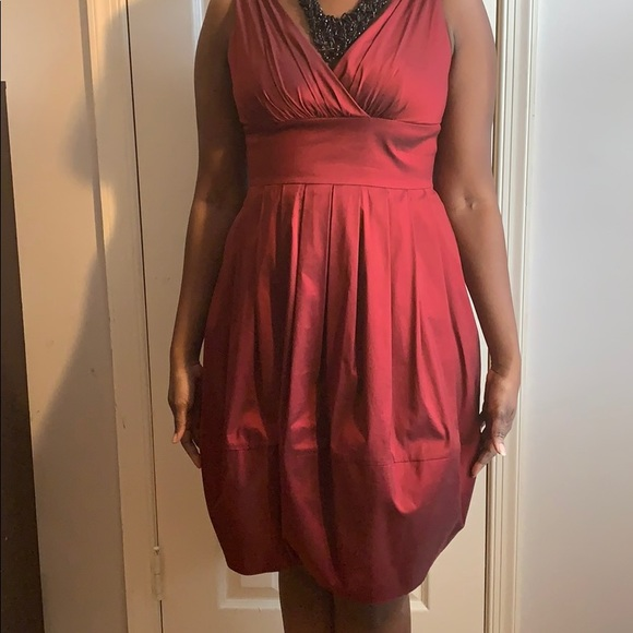 Suzi Chin Maggy Boutique Dresses & Skirts - Gorgeous Ruby Red Cocktail Dress
